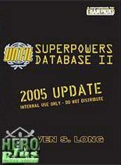 Role Playing Games - UNTIL Superpowers Database II - PDF