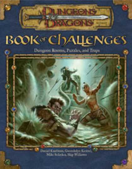 Role Playing Games - Book of Challenges: Dungeon Rooms, Puzzles, and Traps