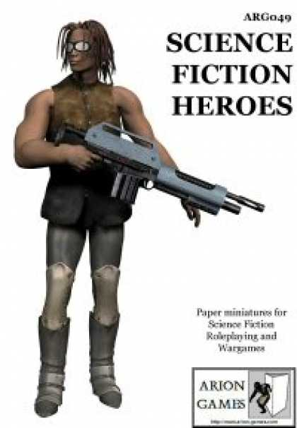 Role Playing Games - Science Fiction Heroes Set