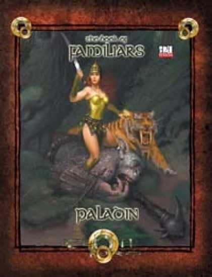 Role Playing Games - Book of Familiars Paladin 3.5