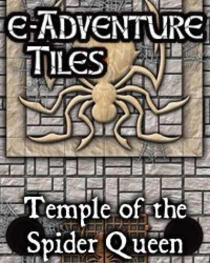 Role Playing Games - e-Adventure Tiles: Temple of the Spider Queen