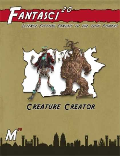 Role Playing Games - Fantasci20: Creature Creator