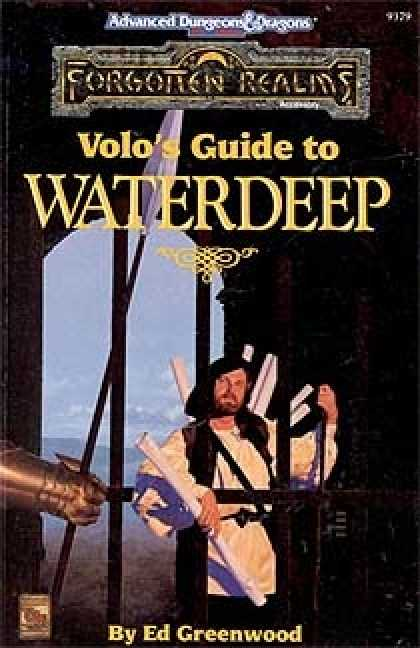 Role Playing Games - Volo's Guide to Waterdeep