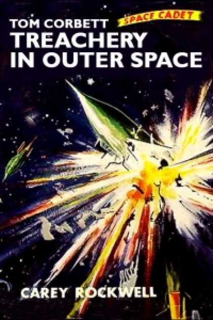 Role Playing Games - Tom Corbett - Space Cadet in Treachery in Outer Space