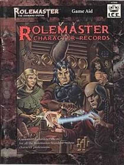 Role Playing Games - Rolemaster Character Records PDF