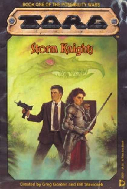 Role Playing Games - Storm Knights: Book One of the Possibilities Wars