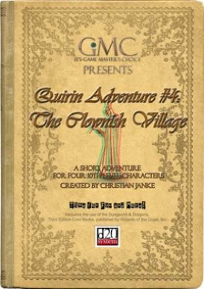 Role Playing Games - Quirin Adventure #4: The Clownish Village