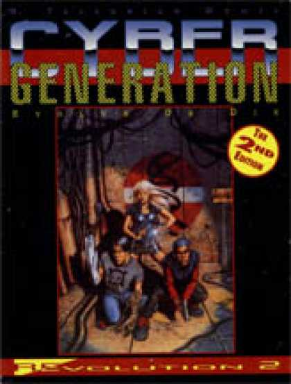 Role Playing Games - Cybergeneration: The 2nd Edition