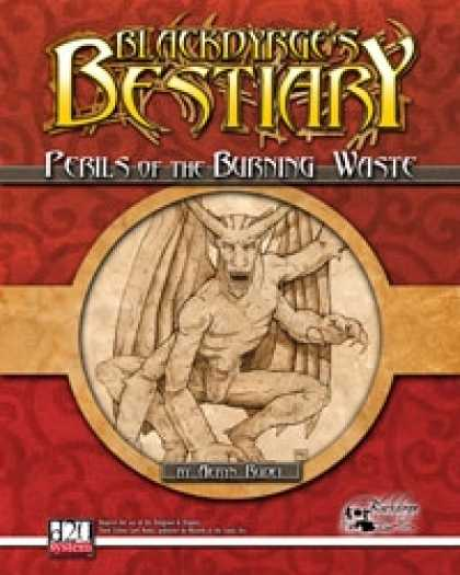 Role Playing Games - Blackdyrge's Bestiary: Perils of the Burning Waste