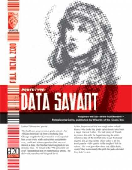 Role Playing Games - Prototype: Data Savant