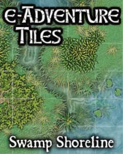 Role Playing Games - e-Adventure Tiles: Swamp Shoreline
