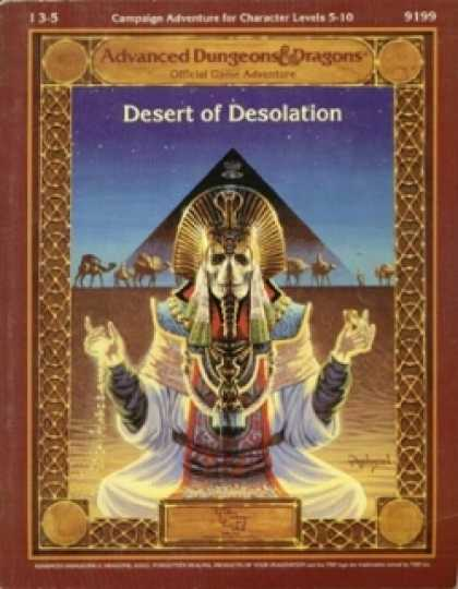Role Playing Games - Desert of Desolation