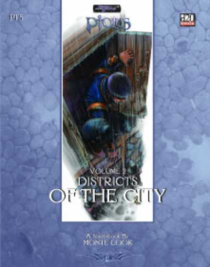Role Playing Games - Ptolus: Districts of the City, Vol. 2