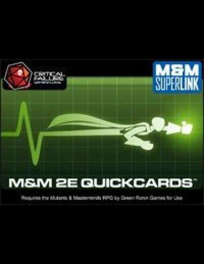 Role Playing Games - M&M 2E Quickcards