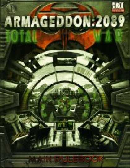 Role Playing Games - Armageddon 2089 Main Rulebook