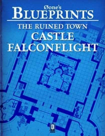 Role Playing Games - 0one's Blueprints: The Ruined Town, Castle Falconflight