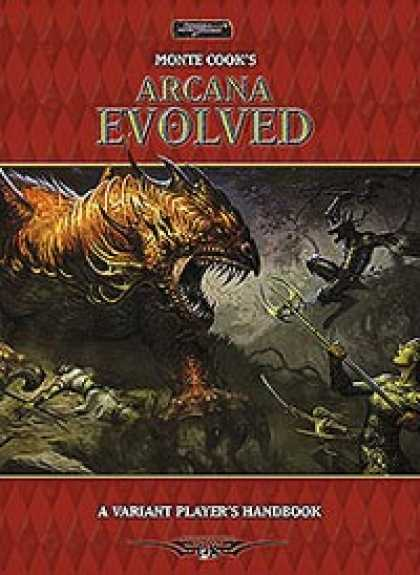 Role Playing Games - Monte Cook's Arcana Evolved