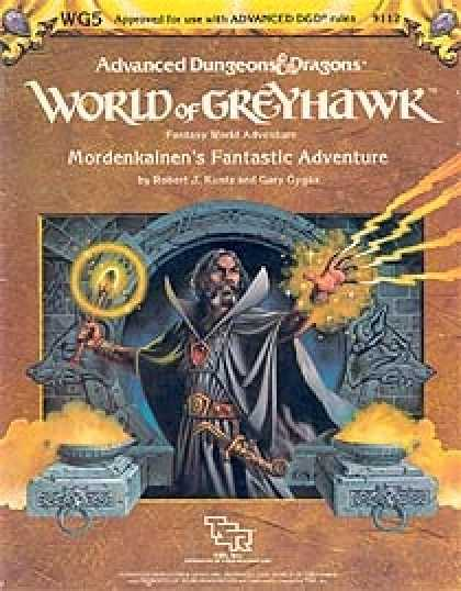 Role Playing Games - WG5 - Mordenkainen's Fantastic Adventure