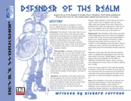 Role Playing Games - Lost Classes: Defender of the Realm