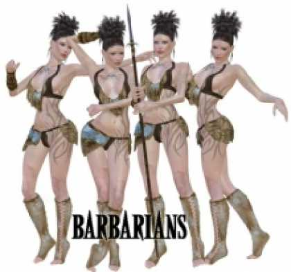 Role Playing Games - Barbarians