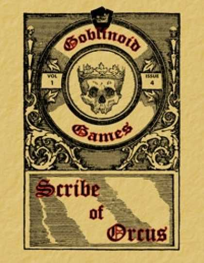 Role Playing Games - Scribe of Orcus, Vol. 1 Issue 4