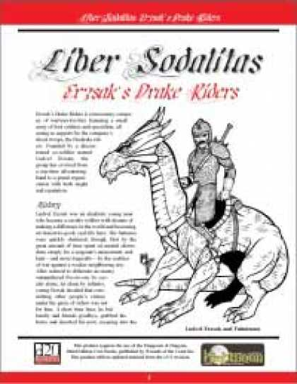 Role Playing Games - Liber Sodalitas: Erzsak's Drake Riders