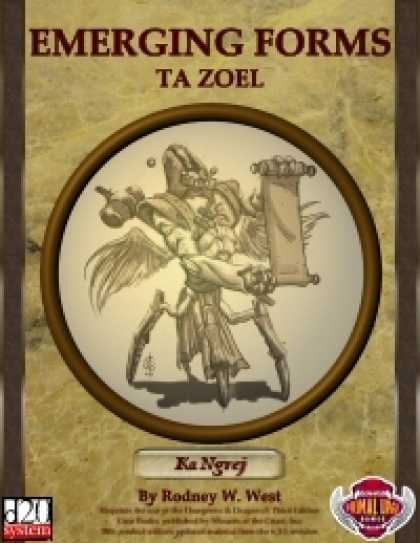 Role Playing Games - Emerging Forms - TaZoel