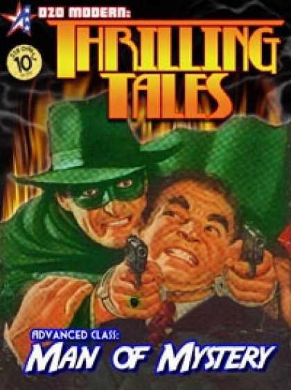 Role Playing Games - THRILLING TALES: Advanced Class- MAN OF MYSTERY