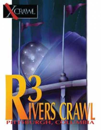 Role Playing Games - Xcrawl: Three Rivers Crawl (level 4 adventure)