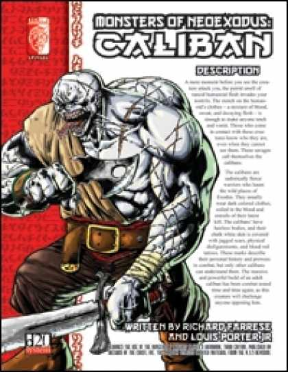 Role Playing Games - Monsters of NeoExodus: Caliban