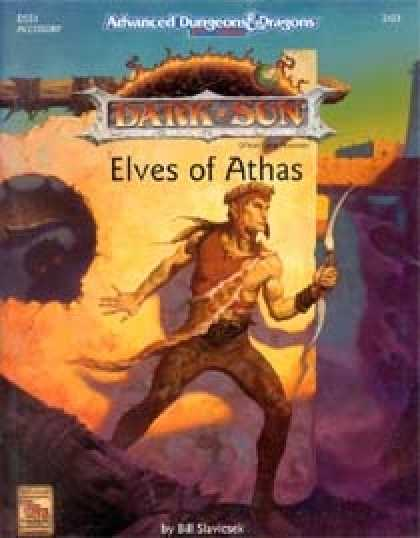 Role Playing Games - Elves of Athas