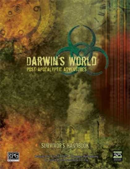 Role Playing Games - Darwin's World: Survivor's Handbook (True20 Edition)