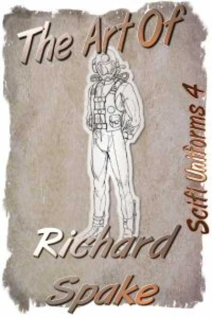 Role Playing Games - Art by Richard Spake - Scifi Uniforms 4