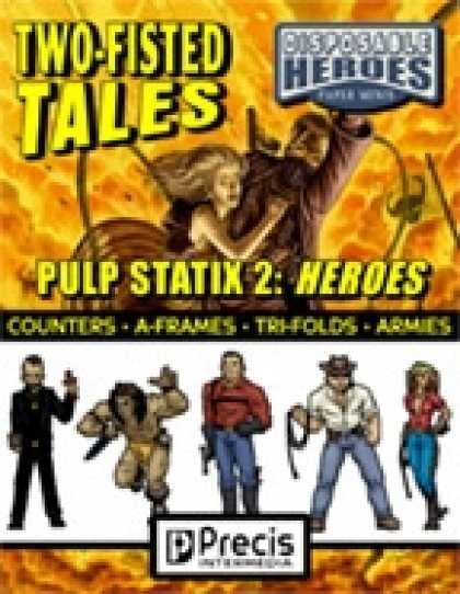 Role Playing Games - Disposable Heroes Pulp Statix 2: Heroes