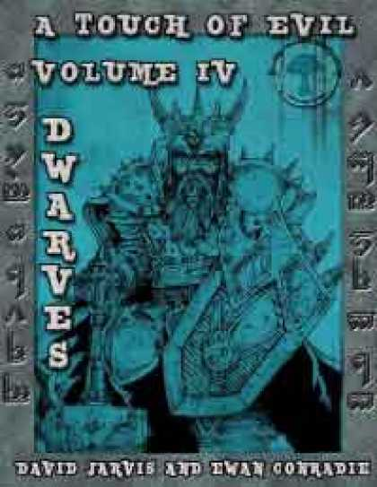Role Playing Games - RDP: A touch of Evil, Volume 4: Dwarves