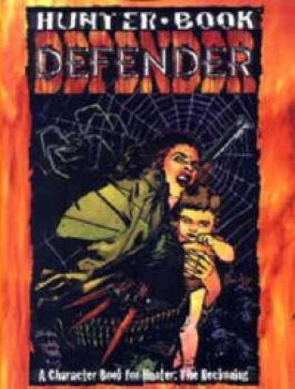 Role Playing Games - Hunter Book: Defender