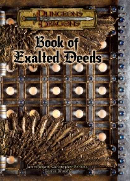 Role Playing Games - Book of Exalted Deeds