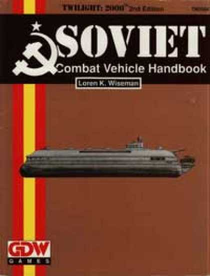 Role Playing Games - Soviet Combat Vehicle Handbook