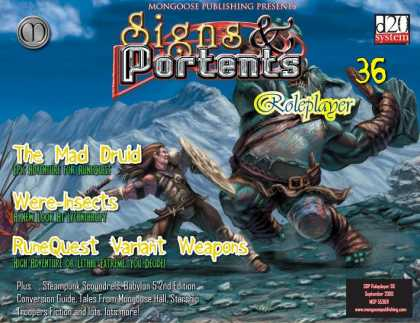 Role Playing Games - Signs & Portents Roleplayer 36