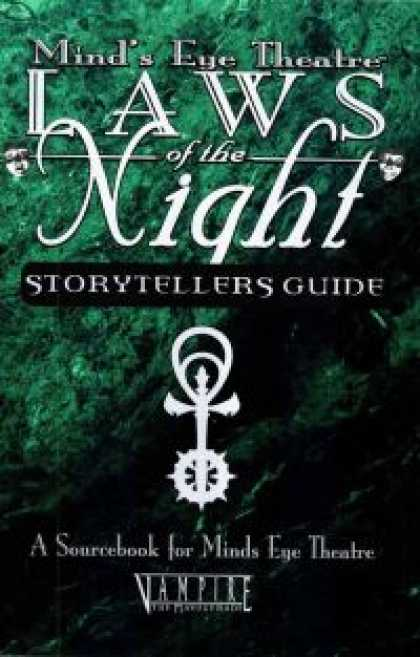 Role Playing Games - Laws of the Night: Storytellers Guide