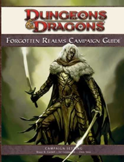 Role Playing Games - Forgotten Realms Campaign Guide