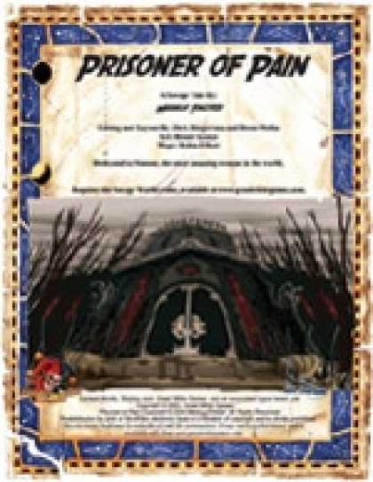Role Playing Games - Savage Tales #9: Prisoner of Pain