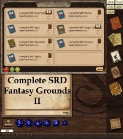 Role Playing Games - The Complete SRD for Fantasy Grounds II