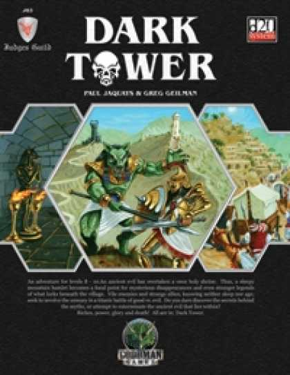 Role Playing Games - Judges Guild JG3: Dark Tower