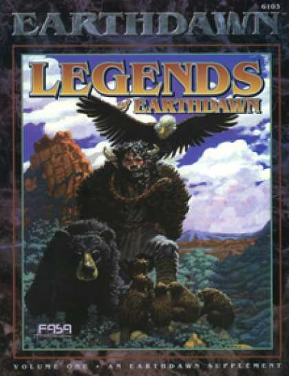 Role Playing Games - Legends of Earthdawn, Volume I