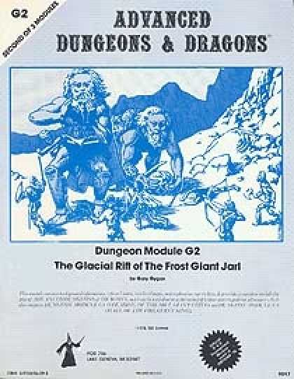Role Playing Games - G2 - The Glacial Rift of the Frost Giant Jarl