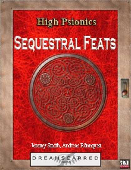 Role Playing Games - High Psionics: Sequestral Feats