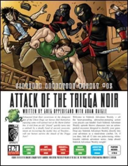 Role Playing Games - Sidetrek Adventure Weekly #05: Attack of the Trigga Noir