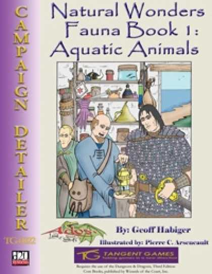 Role Playing Games - Natural Wonders - Fauna Book 1: Aquatic Animals