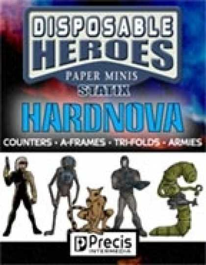 Role Playing Games - Disposable Heroes Sci-Fi Statix 1 (HardNova)